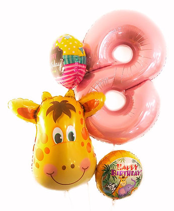 Celebrate 8th Birthday with a Giraffe
