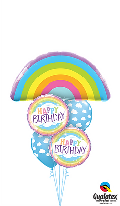 Birthday Rainbows Galore