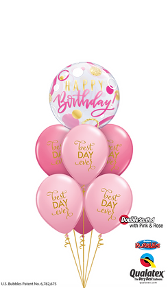 Pink, Rose, & Gold Birthday