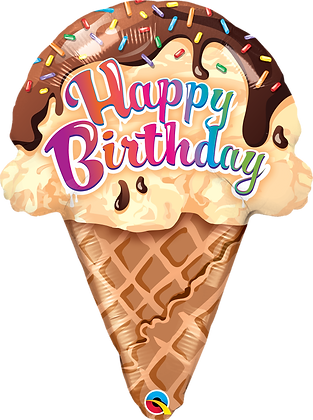 BDAY ICE CREAM CONE