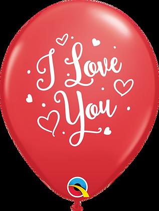 I LOVE YOU HEARTS SCRIPT