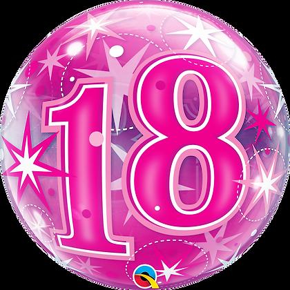 18 PINK STARBURST SPARKLE