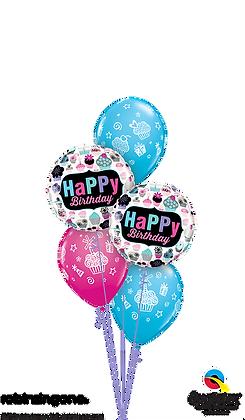 Birthday Cupcakes Galore