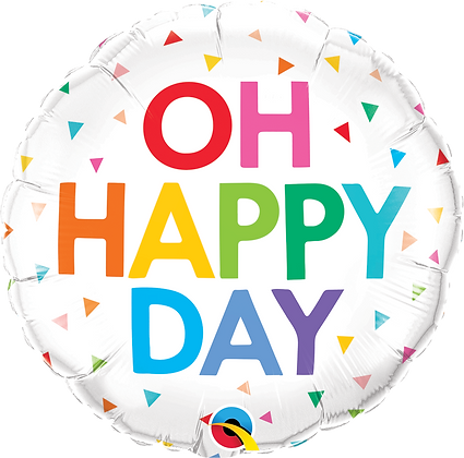 OH HAPPY DAY RAINBOW CONFETTI