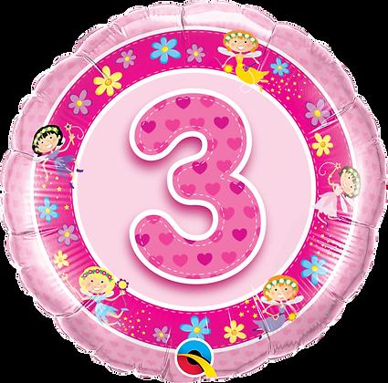 AGE 3 PINK FAIRIES