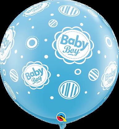 BABY BOY DOTS-A-RND