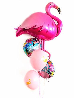 Flamingo birthday mood