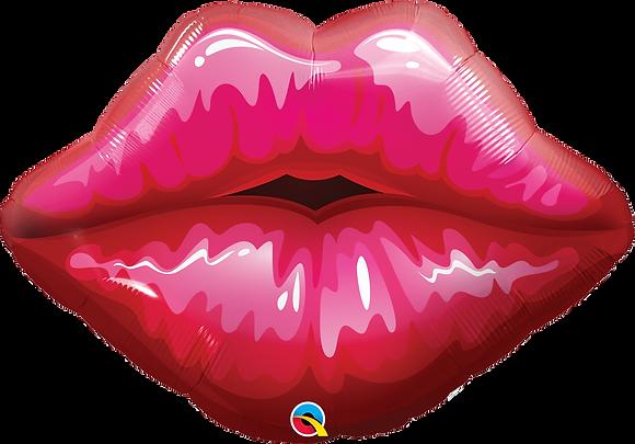 BIG RED KISSEY LIPS