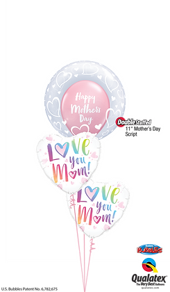 Multicolored Mother's Day Hearts