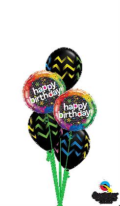 Birthday Stripes Abound