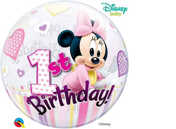 DN MINNIE MOUSE 1ST BDAY