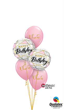 Pink Birthday Cheers