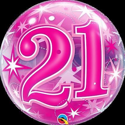 21 PINK STARBURST SPARKLE