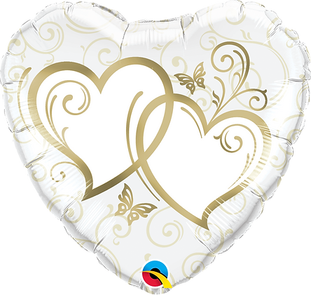 ENTWINED HEARTS GOLD