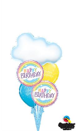 Birthday Clouds & Rainbows