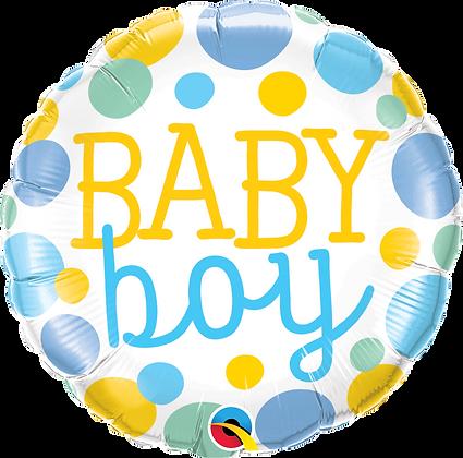 BABY BOY DOTS