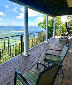 New Deck seating.