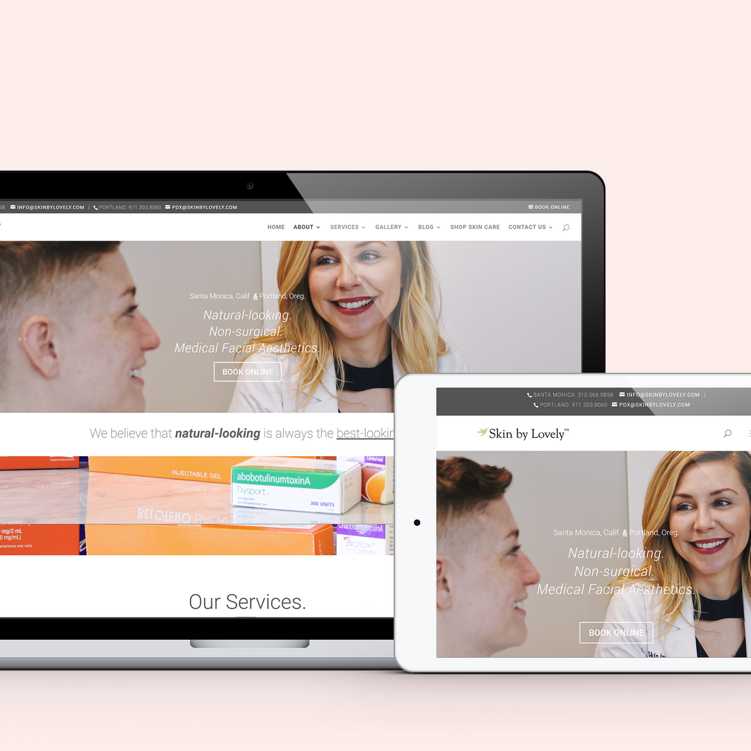 Website Design and Brand Photography Services