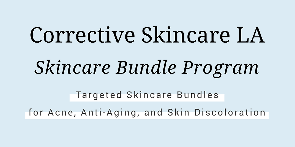 Corrective Skincare LA Skincare Bundle Program for Acne, Anti-Aging, and Discoloration