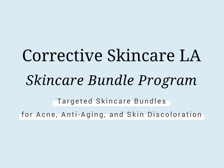 Corrective Skincare Bundle Program