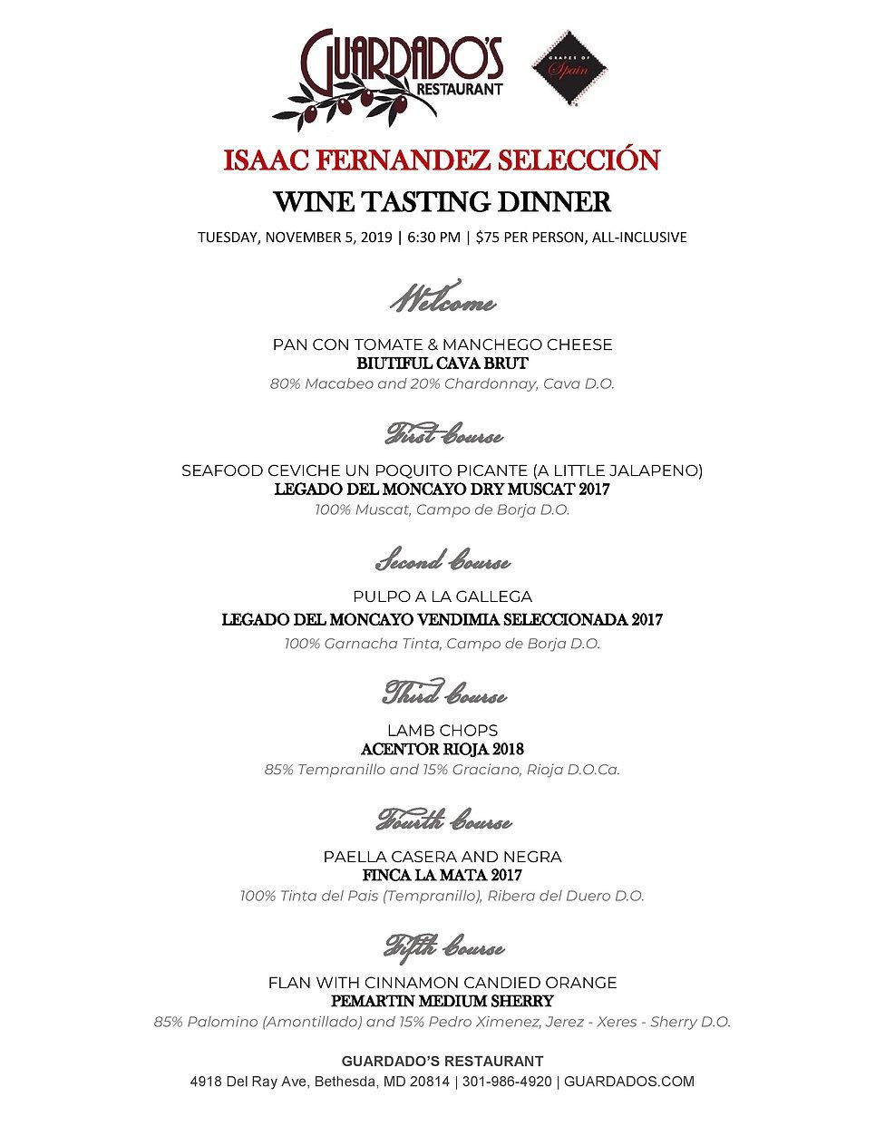Guardados - Isaac Fernandez - 11.5 Dinne