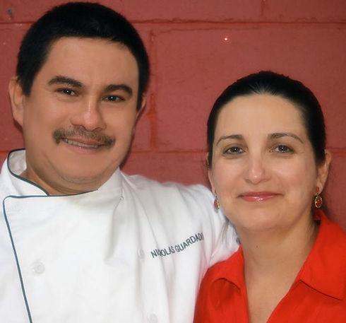 Chef Nicolas Guardado and Reyna Guardado