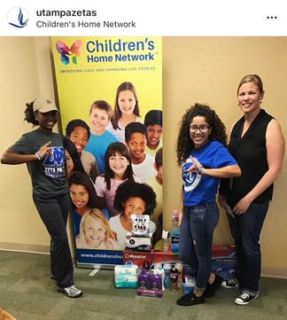 Kappa Lambda Childrens Network Volunteering