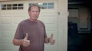 Garage door paint Palm Springs