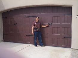 Freshly Installed Garage Door