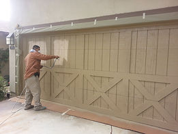 Garage door painting Thousand Palms