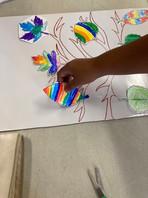 Cambridge YMCA: tree and hand