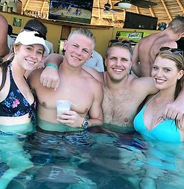 Managers at company trip in Costa Rica