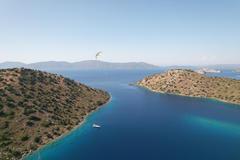 Breathtaking bay in Mediterranean - Turkey and Greek Dodecanese Islands