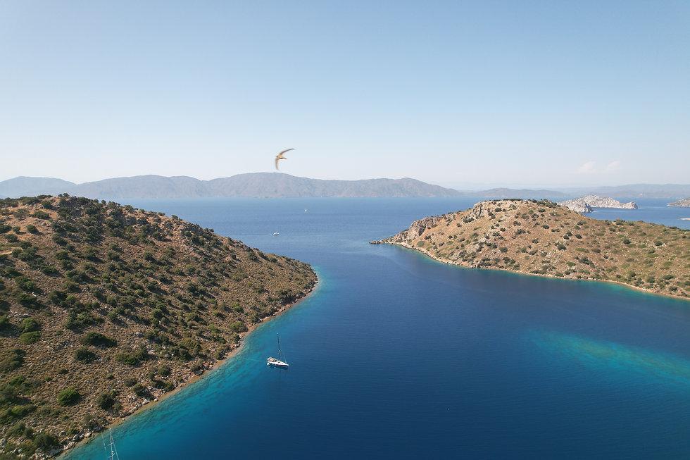 Breathtaking bay in Mediterranean - Turk