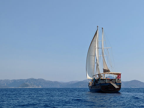 Sailing Chef Gulet sailing the East Mediterranean