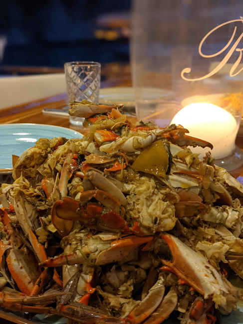 Dalyan Blue Crab cooked to perfection by Sailing Chef.jpg