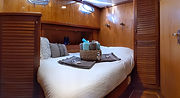 Double Bed Cabin onboard Sailing Chef lu