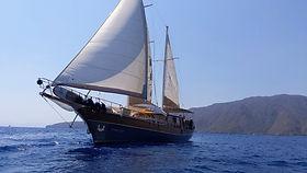 Sailing Chef Blue Cruise at Mediterranean Sea
