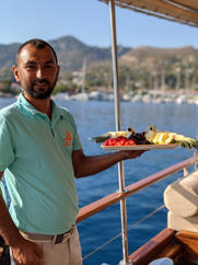 Genuine hospitality during Sailing Chef