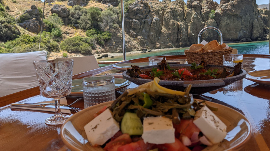 """Last-minute opportunity. Luxury Gulet availability 3-10 July at special """"Guest of the Chef"""" rate"""