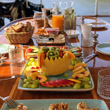 Sailing Chef Blue Cruise Breakfast