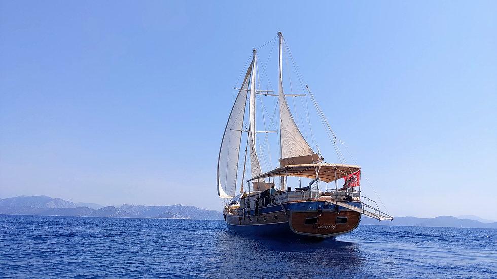 Sailing Chef Gulet sailing Mediterranean