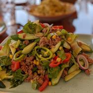 Fresh food lunch salad
