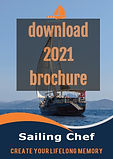 Blue Cruise Borchure 2021 - Sailing Chef