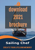 Sailing Chef Mediterranean Cruises Brochure 2021