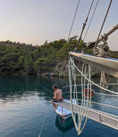 Fishing and relaxing onboard Sailing Chef
