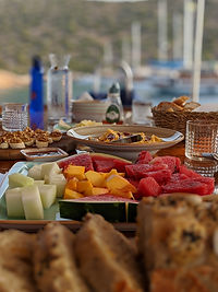 Breakfast is ready onboard Sailing Chef
