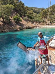 Sailing Chef BBQ for lunch.jpg