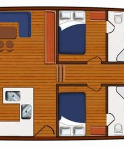 Gulet Yacht Lay-out with seven cabins.jp