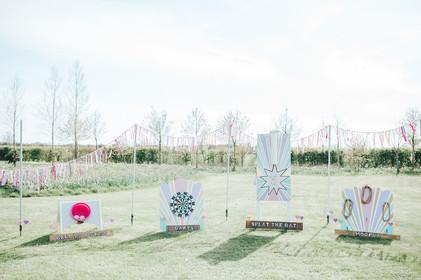 pastel wedding garden games to hire hertfordshire